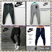 Celana Panjang Training / Jogger Training / Sweetpants Nike - Navy, All Size 27-33