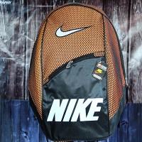 Tas Ransel Nike Sport orange jaring Hitam(berkualitas murah)