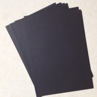 Kertas warna A4 (spektra), hitam