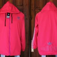 Jaket Adidas Pink List Abu Parasut(murah terbaru Th 2016 )