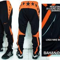Celana Training Panjang Nike Drifit Hitam Orange(murah berkualitas)