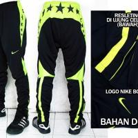 Celana Training Panjang Nike Drifit Hitam Stabilo(murah berkualitas)
