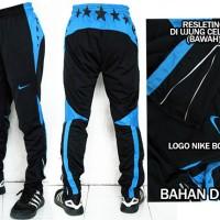Celana Training Panjang Nike Drifit Hitam Biru(murah berkualitas)