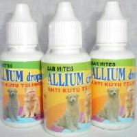obat tetes kutu telinga kuping ear mite allium kucing anjing
