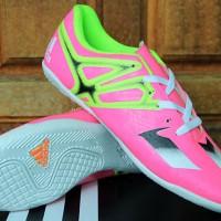 Sepatu Adidas Adizero X.15 Chaos Pink Hijau(murah terbar 2016 new)