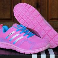 Sepatu Adidas Climacool Women Pink(running,casual,joging)