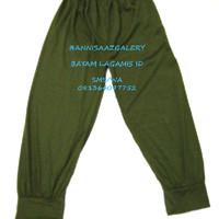 Celana Dalaman Gamis  - Jumbo Hijau