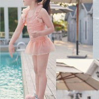 Baju Renang Anak Bayi Cewek Pink Unik Lucu Swimwear Fashion Import