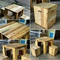 Furniture kayu jati belanda / bekas palet /pinewood