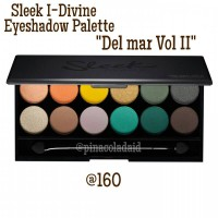 Sleek I-Divine Eyeshadow Palette - Del Mar Vol II