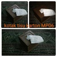 kotak tisu karton MP06