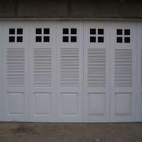 Pintu Garasi Rumah Dengan Besi WINA Aman dan Nyaman