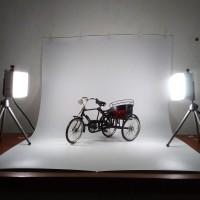 Decosit Background Foto Studio | Alas Foto Waterproof 100x120 cm Putih