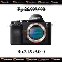 Kamera Sony Alpha 7s Body (Promo Cashback)