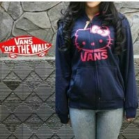 JAKET VANS OFF THE WALS