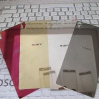 xperia Z3 mirror color tempered glass depan belakang (front+back)