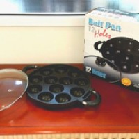 cetakan kue 12 lubang/ snack maker/ takoyaki 12 holes