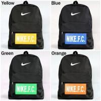 Tas Ransel Olahraga Nike FC Hitam Terbaru 2015 (sekolah,laptop,kuliah)