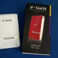 Power Bank V-Gen VGEn 10400mAh Polymer PowerBank