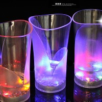 Gelas Nyala Sensor Air Minum Besar Big Large Lampu Lamp LED Light Arts