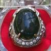 Bacan, Batu Antik Bacan Doko, Palamea, Natural Green Stone Crystal