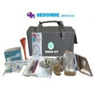 Bidan Kit, Paket Perlengkapan Kebidanan, Tas Alat-alat Bidan Satu Set