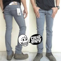 Cheap Monday Grey | Celana Jeans | Slim Fit | Abu