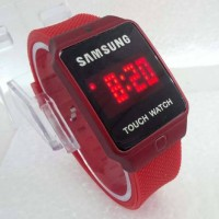 Jam Tangan Samsung LED Touch Screen Rubber