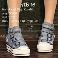 sepatu female ,sneakers AB 16