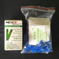 Test Strip Glucose, NESCO. Strip Guls