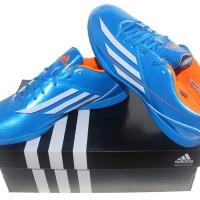 Sepatu Futsal Adidas ORIGINAL F5 IN Biru Putih Ter Murah