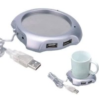 USB Cup Warmer, Penghangat Minuman & 4 USB Port