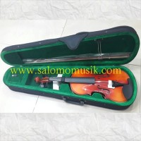 Violin Viena Solidwood 4/4 + Hardcase + Bow + Rosin