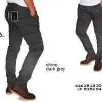 Celana Panjang Chino Zara Dark Grey