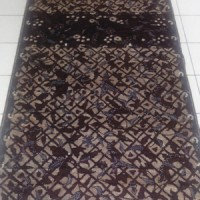 "Kain batik Tulis halus motif SIDOMUKTI"" Tumpal"