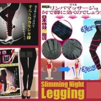 Slimming Night Legging, Korset Kaki Full Pengecil Pinggang-Paha-Betis