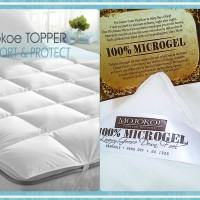 HOTEL BED MATTRESS (MATRAS) TOPPER / COVER -Size QUEEN | 100% MICROGEL