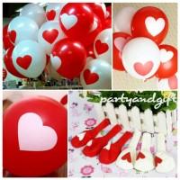 Balon Logo Love / Lambang Cinta