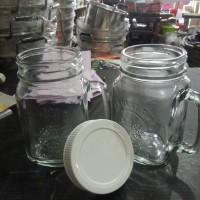 Gelas Harvest Jar Kaca dengan Tutup