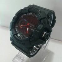 Jam Tangan G-Shock GBA-400 Doble Time Kw Super Black Jarum Merah