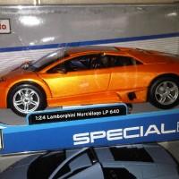 Diecast Maisto 1:24 - Lamborghini Murcielago LP 640 orange