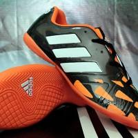 sepatu futsal Adidas Nitrocharge Speed Hitam Orange