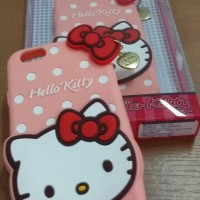 Jelly case cute hello kitty for iPhone 6