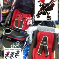 STROLLER + CAR SEAT BABY ELLE CRUZ s702 Travel System