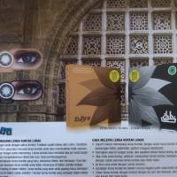Softlens Warna Zuhra Big Series Black dari Exoticon