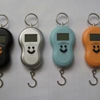 Timbangan Gantung Mini Digital Portable Electronic Scale Smile Travel