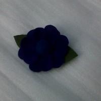 Bros Bunga Biru Flanel B05