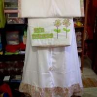 Mukena Anak (Standar, Green Lime, Tas Segiempat)