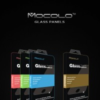 iPhone 7 - FULL COVER MOCOLO SOFT BUMPER ScreenGuard Tempered Glass