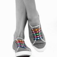 Tali Sepatu Bahan Silicon Produk Impor (Import) Cina (China)